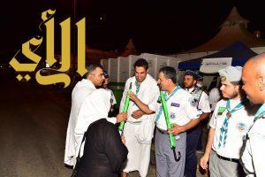 أمين عام المنظمة الكشفية العالمية يشيد بجهود الكشافة السعودية في الحج