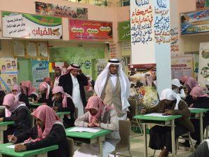 انطلاقة ناجحة لسير اختبارات ما يقارب (40) ألف طالب وطالبة بتعليم الباحة