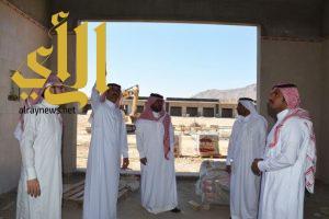 أمانة نجران تنجز 40 % من مشروع سوق الخضار والفواكه بحي الفيصلية