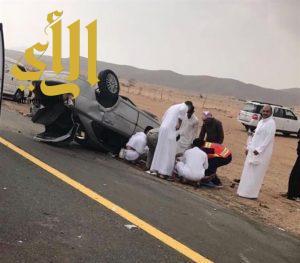 وفاة و 5 إصابات إثر حادث مروع في جدة