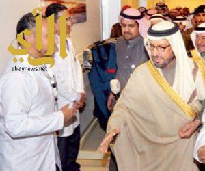 """أمير حائل: أتواصل مع وزير الصحة وأتابع معه المشاريع الصحية عبر """"الواتسآب"""""""