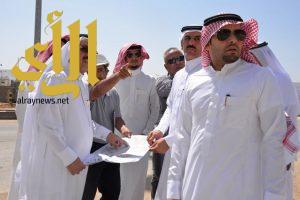 أمين نجران يتفقد عدد من المشاريع الجاري تنفيذها