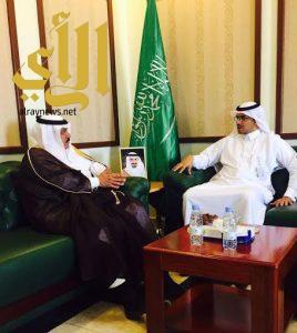 الشمري يستقبل مدير مستشفى خباش العام