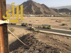 مدني نجران ينفذ فرضية كارثة سيول بمدينة نجران
