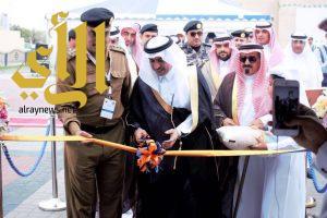 محافظ الجبيل يدشن فعاليات أسبوع المرور الخليجي والمعرض المصاحب له