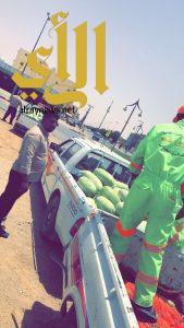 بلدية محافظة المجمعة تنفذ حملة لملاحقة الباعة الجائلين