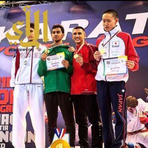عسيري يحرز أول ذهبية دوري عالمي في مجال الكارتيه ببلغاريا