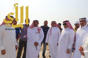 أمين عسير يتفقد مشروع ساحل عسير البحري
