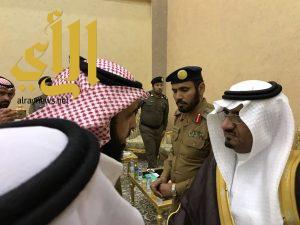 محافظ طريب يتلقى بيعة ولي العهد من رؤساء الدوائر الحكومية والمواطنين
