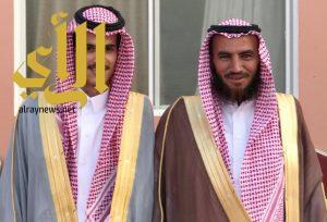 صالح آل مالح يحتفل بزواجه في طريب