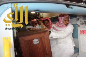 وصول جثمان الشهيد عادل الزهراني إلى الباحة