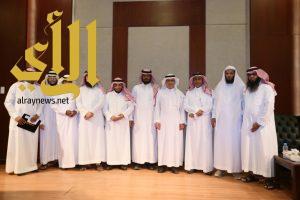اللجنة الثقافية بالخرج تقيم أمسيّة ثقافية للأديب أ.د . عبدالله بن سليم الرشيد