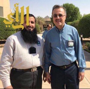 آل راضي مستشاراً فنياً للأمن الصناعي في ارامكو السعودية