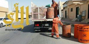 بلدية الخفجي: استبدال 7000 حاوية قديمة بجديدة كتب عليها أوقات مرور الكباسة