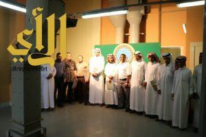 طلاب جامعة الأمير سطام بن عبدالعزيز يزورون المؤسسة العامة للحبوب