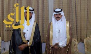 عبدالرحمن آل عوضه يحتفل بزواجه
