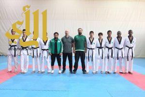 بعثة أخضر التايكوندو تستعد للمشاركة في المنافسات الآسيوية
