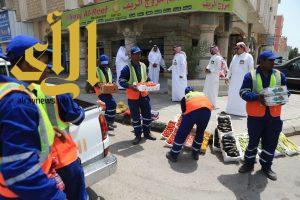 بلدية الخبر تحقق نتائج إيجابية لحملة سلامة الغذاء والحد من الملوثات البصرية