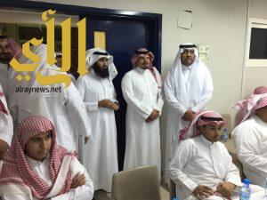 ممثل أندية الأحياء يزور نادي حي ابن النفيس بالخرج