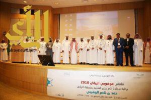 الوهيبي يفتتح فعاليات ملتقى موهوبي الرياض 2018