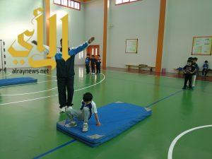 ابتدائية الفرزدق تفتتح برنامج اليوم الاولمبي المدرسي