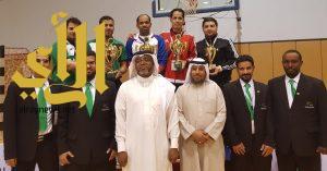 براعم مدرسة جدة تحقق بطولة المملكة للتايكوندو