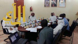 إجتماع المجلس الإستشاري لقسم الهندسة الكهربائية بجامعة الأمير سطام بن عبدالعزيز