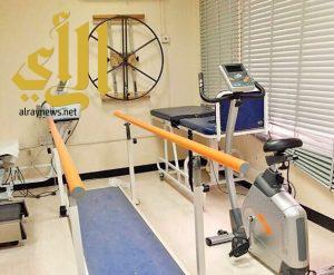 ٦٨٩٤ مستفيد من خدمات أقسام العلاج الطبيعي بمستشفيات مكة المكرمة