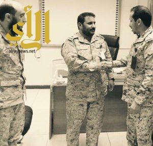 الرئيس رقباء محمد آل حارث يتلقى التهاني بمناسبة ترقيته