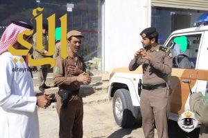 شرطة محافظة دومة الجندل تنفذ حملة امنية