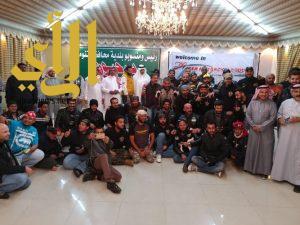 """فريق المحترفون """" بايكرز """" للدراجات النارية في محافظة تنومة"""
