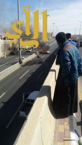 مصرع ثلاثة أشخاص بحادث إنقلاب مركبة بمدينة أبها