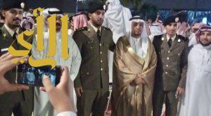 """""""آل عواض"""" يحتفلون بتخرج ثلاثة من أبنائهم من الكلية الأمنية"""
