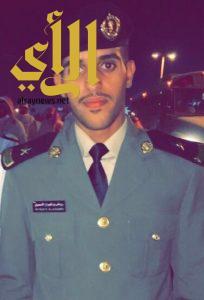 """""""الأسمري"""" يحتفل بتخرجه من الكلية الأمنية"""