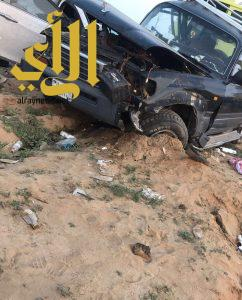 عدد من الإصابات والوفيات جنوب القنفذة إثر تصادم بين مركبتين