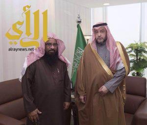 نائب وزير الشؤون الإسلامية يشكر فرع الوزارة بجازان