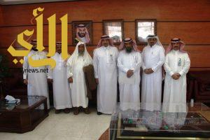 القاضي يستقبل جمعية النحالين برجال ألمع