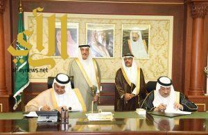 أمير جازان يرعى توقيع اتفاقيات بين الأسر المنتجة وجهات حكومية وتعليمية لتدريبهم ودعمهم