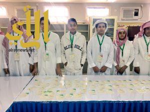 ثانوية الشيخ ابن عثيمين بتعليم الخرج تنتهي من مشروع مهن