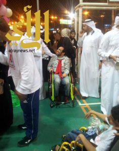 ١٠٠ أسرة من ذوي الإعاقة تحتفل بالعيد بمنتجع مكارم النخيل
