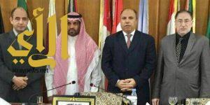 """""""آل شمعان"""" يحصل على الماجستير من جامعة نايف العربية للعلوم الأمنية"""