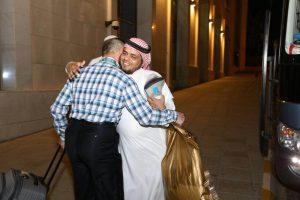 مغادرة المجموعة الأولى من ضيوف برنامج خادم الحرمين الشريفين