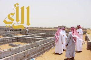 جمعية البر بالحكامية بجازان تبدأ في تنفيذ مشروع بناء وحدات سكنية