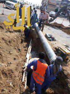 بلدية صبيا تباشر تنفيذ أعمال قنوات لتصريف مياه الأمطار