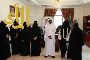 رئيس تراحم جازان يستقبل رئيسات الأقسام النسائية بلجان المناطق