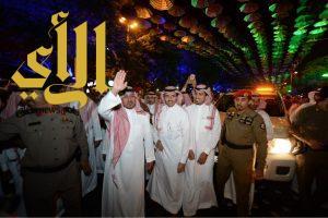"""الأمير منصور بن مقرن : سنستفيد من حراك """"أبها"""" لتحقيق سياحة مستدامة في المنطقة"""