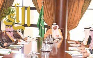 أمير تبوك يترأس اجتماع جمعية الامير فهد بن سلطان الاجتماعية