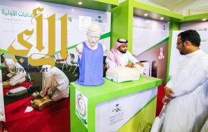 بالصور.. أقبال كبير على الخيمة الصحية بمهرجان جازان الشتوي في يومه الثالث