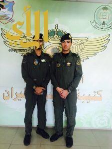 """أسرة آل قضعان تحتفل بتخرج الملازم طيار """"عمر"""" والملازم طيار """"عبدالله"""""""