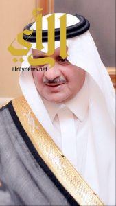 أمير تبوك يواسي مدير جامعه فهد بن سلطان في وفاة والدته